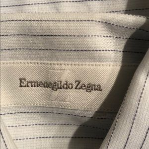 Ermenegildo Zegna Shirts - 🍎Ermenegildo. Zegna Men's Button Down Shirt